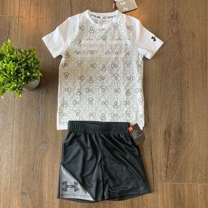 Under Armour boys Stephen Curry outfit
